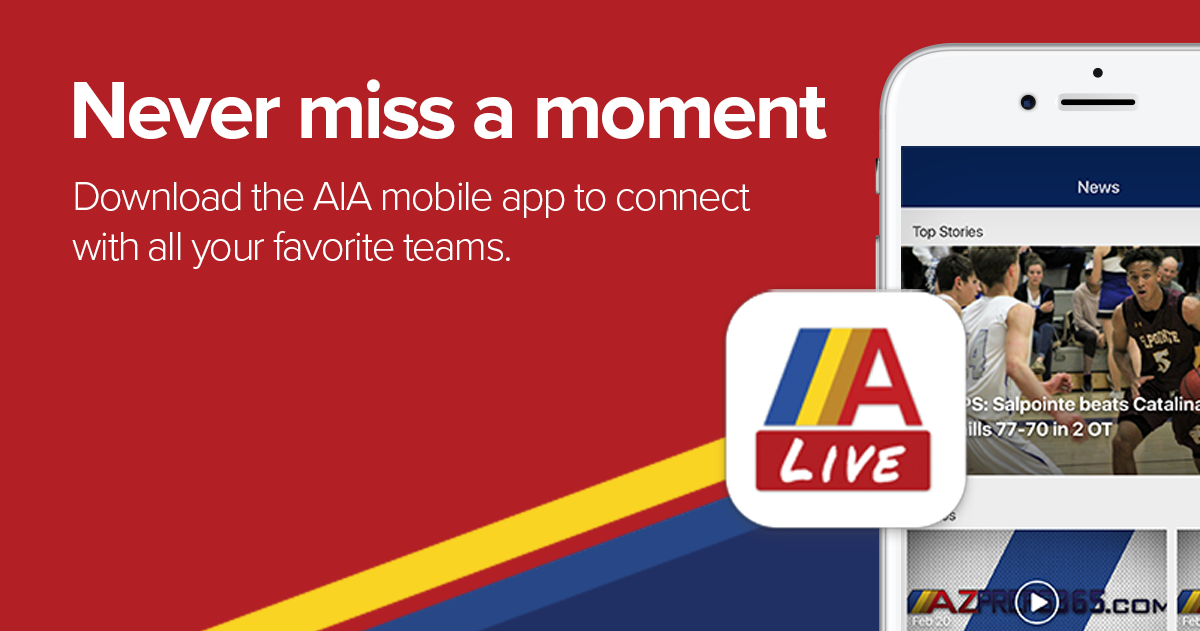 Download the AZPreps365 Live App for iOS and Android